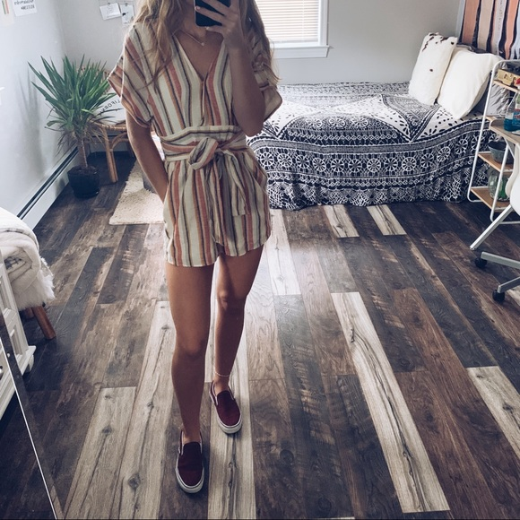 American Eagle Outfitters Other - AE Stripped Romper